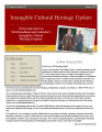 number 022 Intangible Cultural Heritage Update (January 2011)