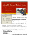 number 020 Intangible Cultural Heritage Update (November 2010)