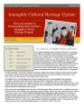 No. 012. Intangible Cultural Heritage Update (December 2009)