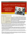 Intangible Cultural Heritage Update, number 013 (Jan-Feb 2010)