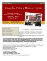 Intangible Cultural Heritage Update, number 033 (March 2012)