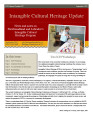No. 037. Intangible Cultural Heritage Update (September 2012)