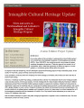 number 038 Intangible Cultural Heritage Update (October 2012)