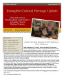 Intangible Cultural Heritage Update, number 046 (August/September 2013)