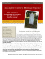No. 047. Intangible Cultural Heritage Update (October-November 2013)