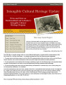 Intangible Cultural Heritage Update, number 049 (January/February 2014)