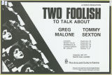 Two Foolish to Talk About (Tour)