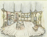 Miss Julie (Set sketch)