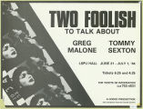 Two Foolish to Talk About (1984)