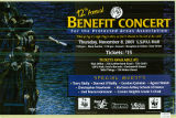 Benefit Concert for the Protectd Areas Association. 12th annual