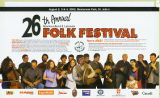 Newfoundland and Labrador Folk Festival. 26th annual (2002)