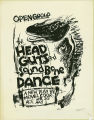 The Head Guts and Sound Bone Dance (Don Wright Poster)