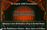 You Are Invited To The  One Act Festival