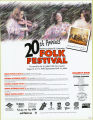 Newfoundland and Labrador Folk Festival. 20th annual (1996)