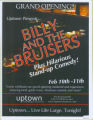 Uptown Presents... Billy and the Bruisers : plus hilarious standup comedy