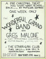 Wonderful Grand Band With Greg Malone