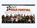 Newfoundland and Labrador Folk Festival. 22nd annual (1998)