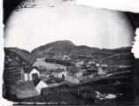 (01 01 002) Quidi Vidi Village. View of the village looking towards the gut
