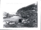 (01 01 004) Quidi Vidi Village. View of the village looking towards the gut