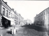 (01 02 001) Water Street, St. John's. View looking east with the O'Dwyer block to the right pre-1899