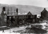 (01 06 008) East End, St. John's. Ruins of a street on the south side of Water Street aftermath of...