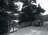 (01 11 005) Parks, St. John's. View of car on a road in Bowring park