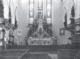 (02 02 024) Churches, St. John's. St. Patrick's Roman Catholic Church, interior view towards...