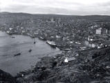 (03 01 017) Harbour Views, St. John's. View of the harbour from Signal Hill