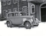 02.06.004: Government House, St. John's. New Willys car, winter ca. 1932