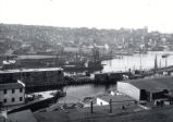 03.04.003: Southside, St. John's. View of the west end of the harbour, showing in detail the area...