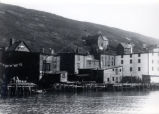 03.04.010: Southside, St. John's. Ayre and Sons premises, Southside, with houses, wharves and...