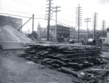 (03 06 030) Drydock, St. John's. Construction materials and the new sluice, 25 May - 1 July 1925