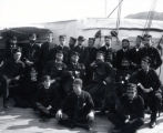 04.02.003: Military and Cadets, St. John's. Naval group on the deck of a ship