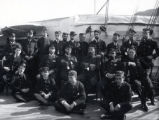 04.02.004: Military and Cadets, St. John's. Naval group on the deck of a ship