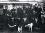 04.02.013: Military and Cadets, St. John's. Royal Navy officers, ca. 1882-1891