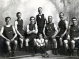 06.01.001: Regatta/Rowing, St. John's. Studio portrait of the Rovers boat crew, ca. 1906