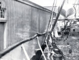 (03 05 075) Ships in harbour, St. John's. Deck of an unidentified vessel, post-1892