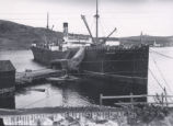 24.02.010: Ships and other Vessels. Blue Peter, possibly Conception Harbour, ca. 1928-1938