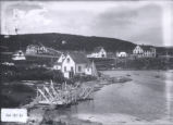 19.03.001: St. Anthony. View of the community and the Grenfell Mission, pre-1921