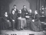 26.01.008: People, Identified. Rev. Dr. William Pilot and family, St. John's