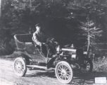 31.01.028: St. John's and Environs. Open touring car, 1905-6? Model reo car, 1911?