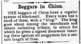 Beggars in China
