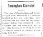 Cunningham convicted