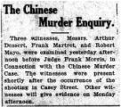The Chinese murder enquiry
