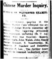 Chinese murder inquiry: murder of witnesses examined