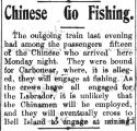 Chinese go fishing