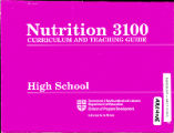 Nutrition 3100 Curriculum and teaching guide