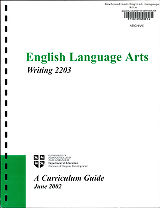 English Language Arts Writing 2203