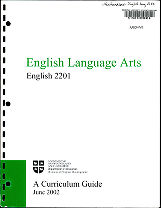 English Language Arts English 2201
