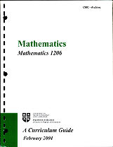 Mathematics - 1206